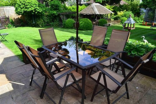 8 Piece Santorini Garden And Patio Set ...