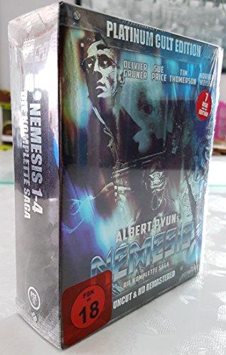 Nemesis - Die komplette Saga / Nemesis (Complete Saga 1-4) - 7-Disc Box Set ( Nemesis / Nemesis 2: Nebula / Nemesis 3: Time Lapse / Nemesis 4: Death Angel ) (Blu-Ray)