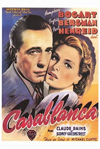 Casablanca Affiche du film Poster Movie Casablanca (27 x 40 In - 69cm x 102cm) Style C
