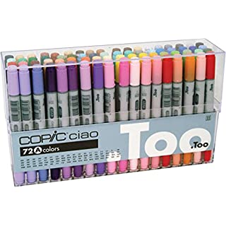 Copic Ciao 72 Piece Marker Set - A