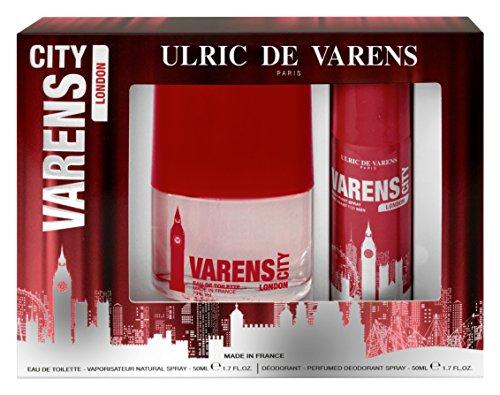 Ulric de Varens Coffret Varens City London Eau de Toilette 50 ml + Déodorant 50 ml