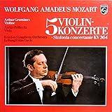 Mozart: 5 Violinkonzerte [Vinyl Schallplatte] [3 LP Box-Set]