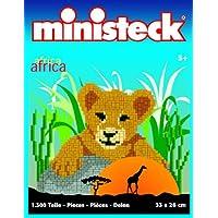 Ministeck 31304 - Cucciolo di leone, ca. 1300 pezzi