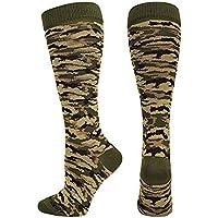 Rodilla Alta Calcetines de Compresión Estilo de camuflaje Pack de 3 pares Calcetines de compresión para