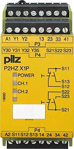 Fungo due mani unità di controllo P2HZ X1P #777435 115VAC 3N o/1N/C 2so PNOZ X trattieniti l