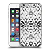 Head Case Designs Offizielle Vasare NAR Geometrisch Grau Muster 3 Soft Gel Hülle für iPhone 6 Plus/iPhone 6s Plus