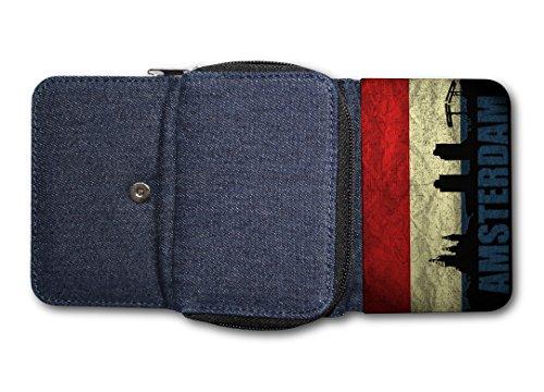 Damen Tasche Geldbörse Portemonnaie Holland Amsterdam