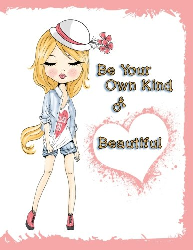 Be Your Own Kind of Beautiful: Discreet Internet Website Password Keeper, Large Print Book, 8 1/2