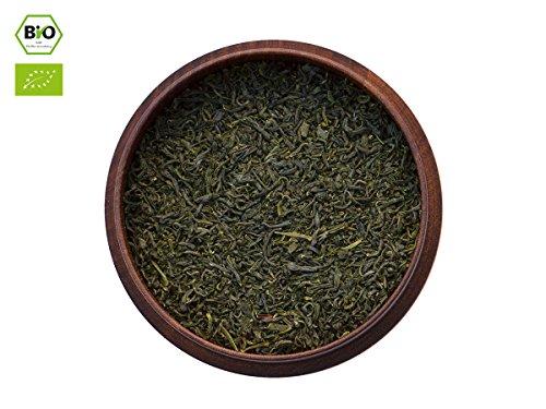 Japanischer Grüner Tee Tamaryokucha, BIO-zertifiziert, Premium, beschattet. 50g, lose, nicht aromatisiert. Milder, nussiger, mandelartiger Charakter. Direkt aus Japan