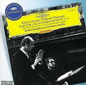 Bartok : les Concertos pour piano n° 1, 2 et 3