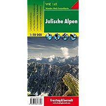 Julische Alpen, Wanderkarte 1:50.000, WK 141, freytag & berndt Wander-Rad-Freizeitkarten