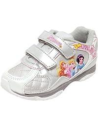 ca13fe36fbce6f Disney Princess Mädchen Sneaker Freizeitschuhe Kinderschuhe Klettverschluss  Prinzessin Silber metallic Gr.…