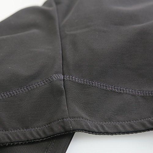 Butt Lifter Shaper Tummy Control Hinterbacke Erweiterer Boyshorts Unterwäsche Schwarz