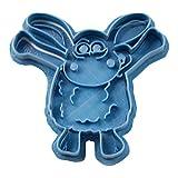 Cuticuter Timmy y Sus Amigos Cortador de Galletas, Azul. 8x7x1,5cm