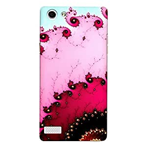 DASM United Oppo Neo 7 Premium Back Case Cover - Colorful Fractals