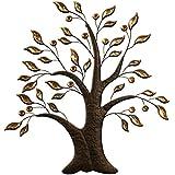 Carrick diseño árbol de pared de metal arte, multicolor, 66x 70cm