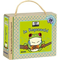 Moses 21075 - Green Start Buch- & Puzzle-Set Im Regenwald
