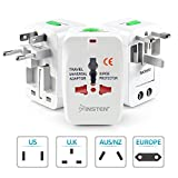 #6: Universal World Wide Travel Charger Adapter Plug, White
