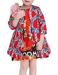 Smile YKK Chaqueta Bebé Mangas 3/4 Cuello Redondo con Pretina Multicolor