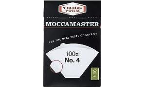 Technivorm 100 bolsas de filtro Moccamaster