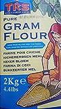 Muskelaufbaumittel - TRS Kichererbsen Mehl - Gram Flour - Besan - 2 KG