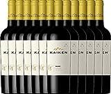 12er Paket Kaiken Malbec 2017 - Viña Kaiken | trockener Rotwein | argentinischer Wein aus Mendoza | 12 x 0,75 Liter