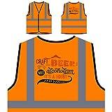 Cerveza Artesanal No Es Alcoholismo Chaqueta de seguridad naranja personalizado de alta visibilidad t531vo