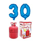 Party Factory Ballongas Helium 420 Liter im Set mit Folienballon 30