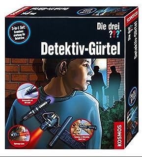 KOSMOS 630928 - Die drei ??? Detektiv-Gürtel (B01MZ6SGFC) | Amazon Products