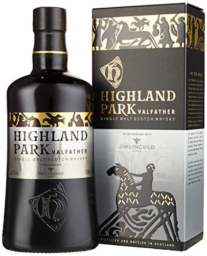Highland Park Valfather Single Malt Scotch Whisky (1 x 0.7 l) - der intensive und rauchige Whisky, Teil 3 und Vollendung der Viking Legends Trilogie