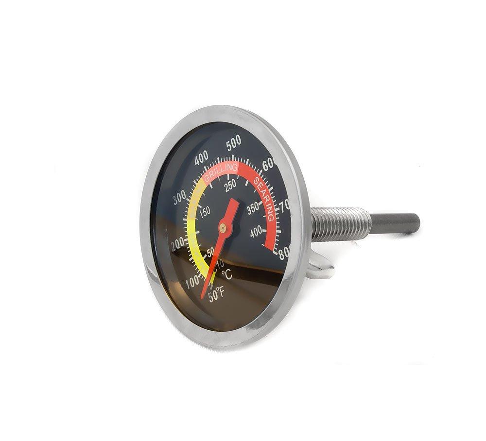 Home Tools.EU®–Analógica Resistente a la Temperatura de Barbacoa termómetro de Cocinero (para actualización para ollas Barbacoa Asador Horno para ahumar, 10°C–400°c