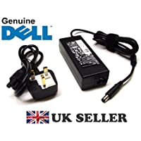 GENUINE Original DELL 90W AC Adapter Charger Power Supply & UK Mains Cable for Latitude Inspiron Precision XPS Studio Laptops , Brand NEW, New version PA-3E PA3E PA10 PA-10 AC Adapter
