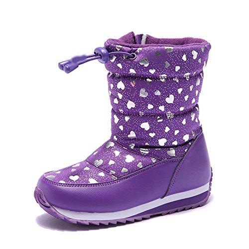 XTIAN, Bottes pour Fille Violet