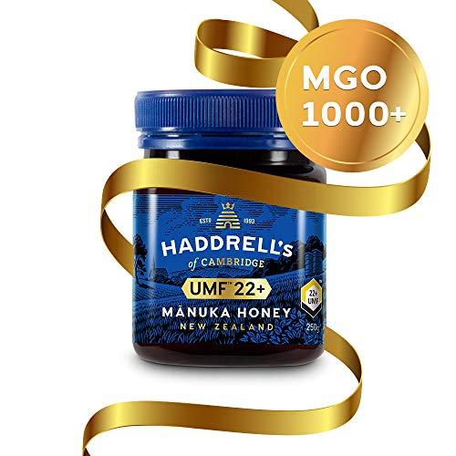 Haddrell\'s Manuka Honig MGO 1000+ (UMF 22+) 1 x 250 g - Limited Edition