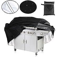Barbecue Copertina Protezione, Aodoor Copertina Protezione BBQ Cover Copertura per Evitare di Pioggia Polvere Sole, Cover per barbecue misura L 170 x 61 x 117cm