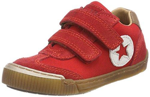 Bisgaard Unisex-Kinder Klettschuhe Sneaker, Rot (Red), 36 EU
