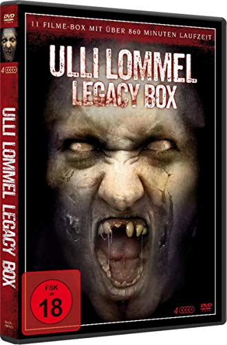 Ulli Lommel - Legacy Box Edition [4 DVDs]