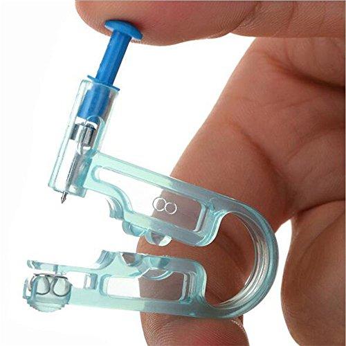 Sicherheit Ohr Piercing Pistole - Vococal Ohrring Piercing Tool mit Ohr Stud Asepsis Pierce Kit fur ohrlochstechen