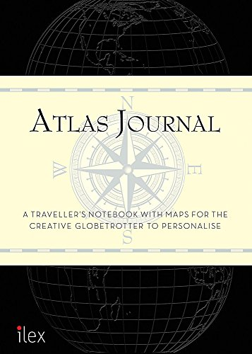 Atlas Journal: A traveller's notebook with maps for the creative globetrotter to personalise