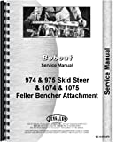 Bobcat 975 Skid Steer Loader Service Manual