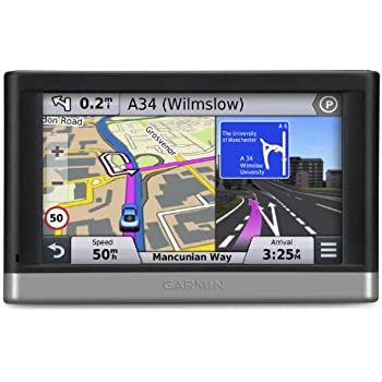 Garmin Nuvi LMT  Sat Nav With UK And Full Europe Maps Free - Gps navigation uk and us maps