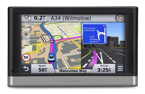 GARMIN NUVI 2567LM WE - GPS PARA COCHES DE 5 0   MAPAS DE EUROPA OCCIDENTAL  NEGRO Y PLATA