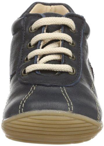 Pololo  Anton enzian, Chaussures de ville à lacets pour garçon Bleu - Blau (enzian 700)