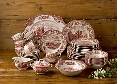 johnson-brothers-45-piece-old-britain-castles-dinner-set-pink