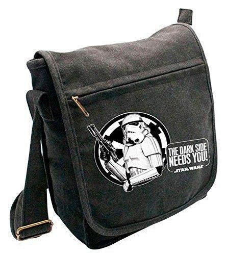 Retro star wars stormtrooper messenger sac à bandoulière