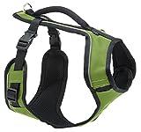 PetSafe Easy Sport Hundegeschirr M grün, extra, Reflektoren, Geschirrgriff, für mittelgroße Hunde