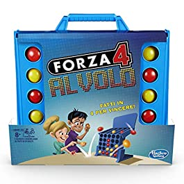 Hasbro Gaming – Forza 4 Al Volo (gioco in scatola)