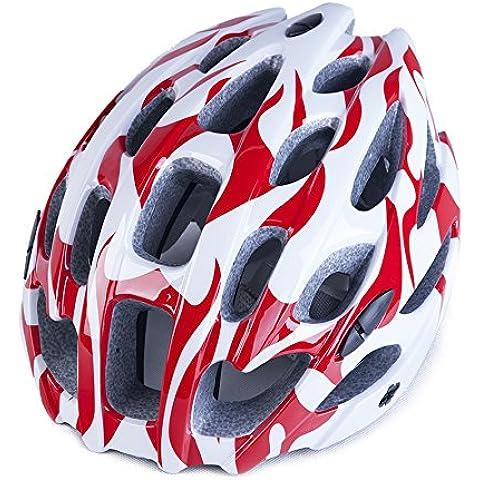 TKWMDZH® Cascos en un casco de bicicleta casco de montar a caballo , red