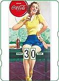 Telecharger Livres Calendrier perpetuel Coca Cola joueuse de tennis de table vintage (PDF,EPUB,MOBI) gratuits en Francaise