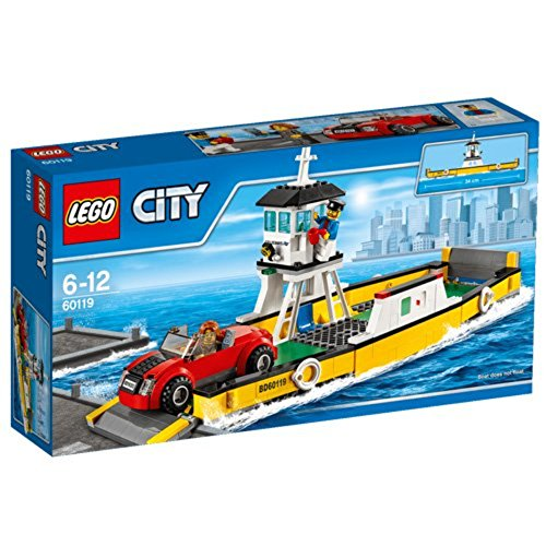 LEGO 60119 City Great Vehicles Ferry Building Toy
